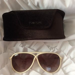 Tom Ford sunglasses plastic frame